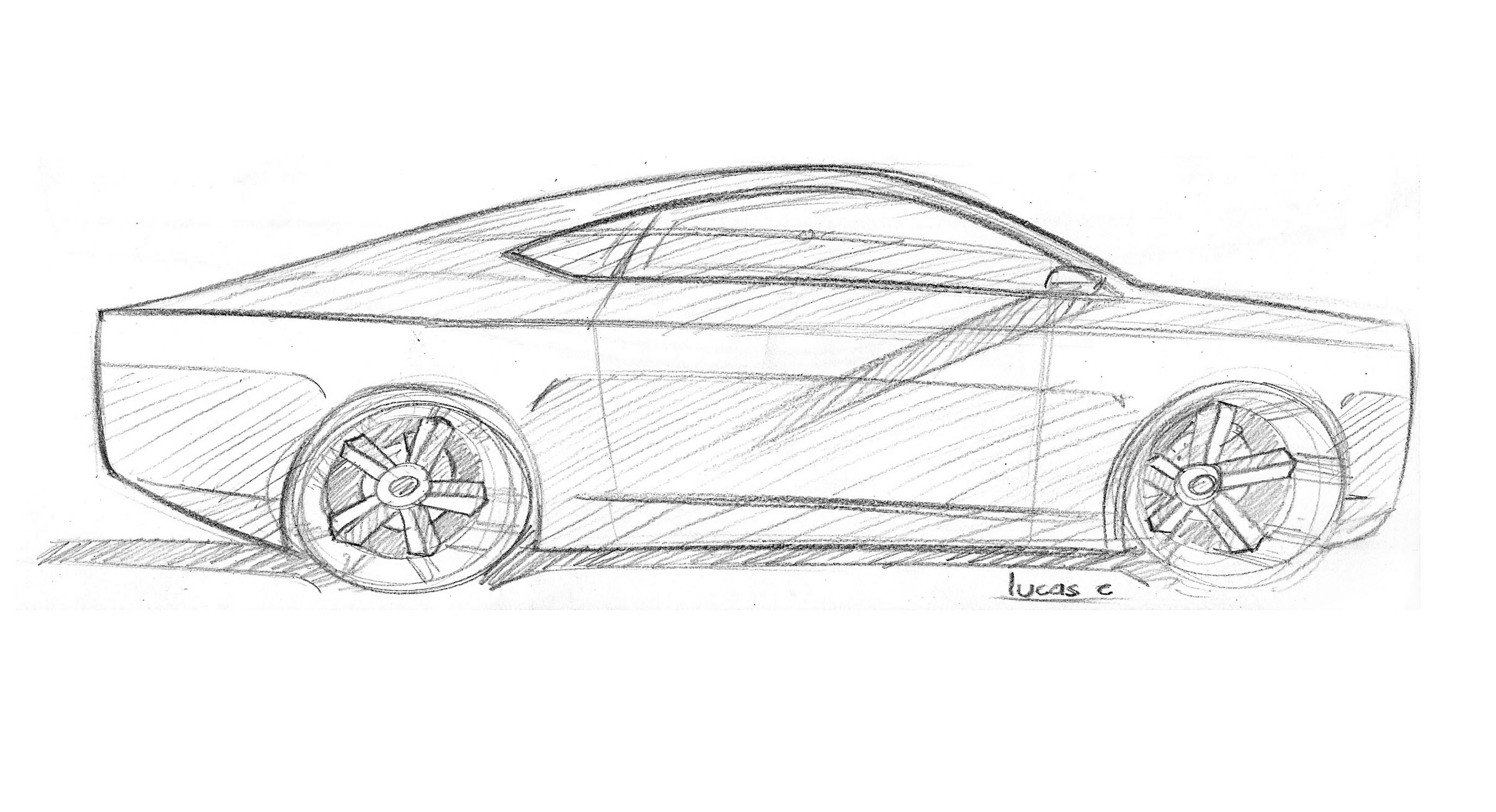 Drawing Sr 71 Mustang The Source Ford Forums