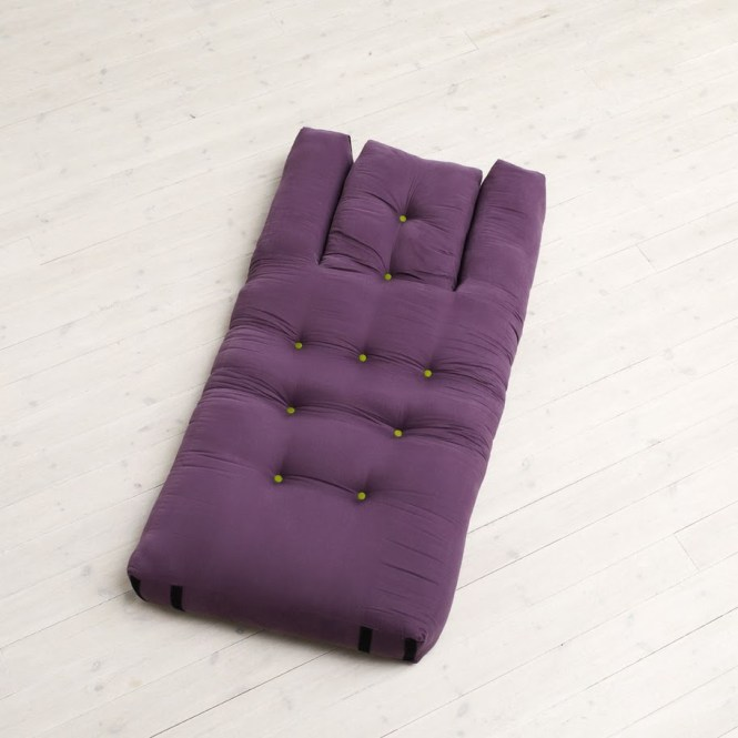 Hippo Mattress Purple Cotton Is Just As Nest Nido A Redesign Of Traditional Futon Furniture Designed For Small Es