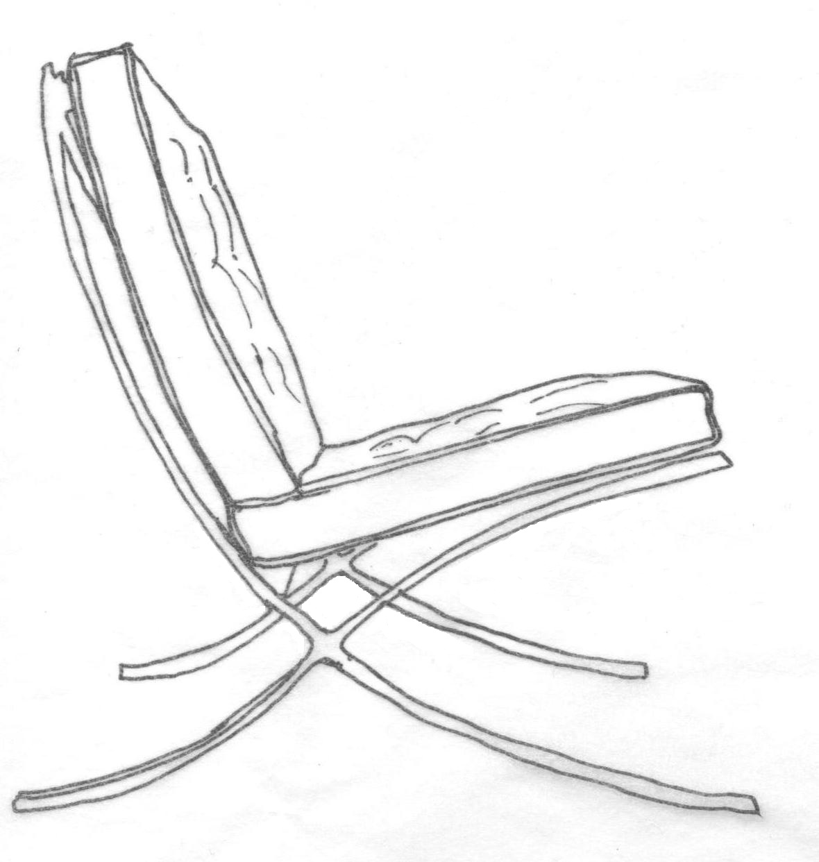 Furniture Amp Architecture Sketchbook By Kristina Romero At