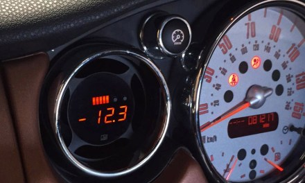 P3Cars Vent Integrated Digital Interface Gauge for the Mini Cooper R53 (R50-53)