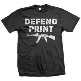 Defend Print Shirt