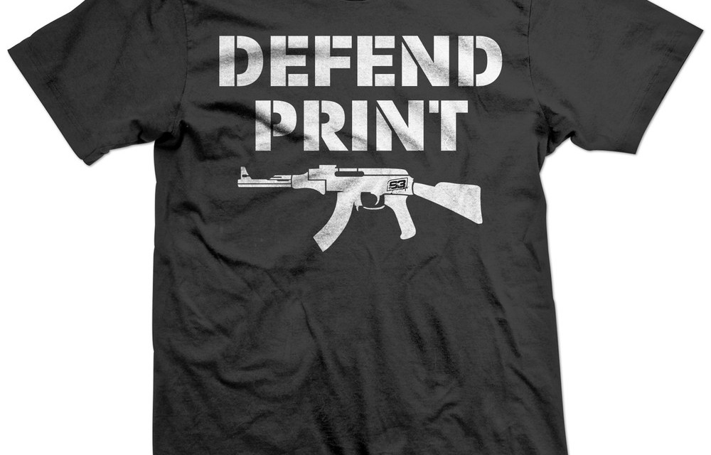Defend Print Shirt