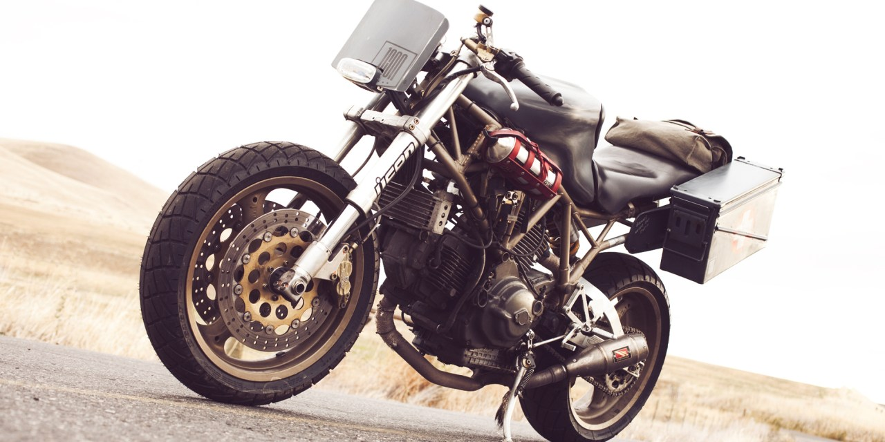Found in the Classifieds: Tacticool Ducati 900SS