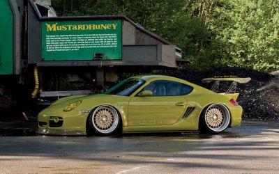 Shrek's Porsche Cayman S