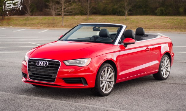 2016 Audi A3 Cabriolet review