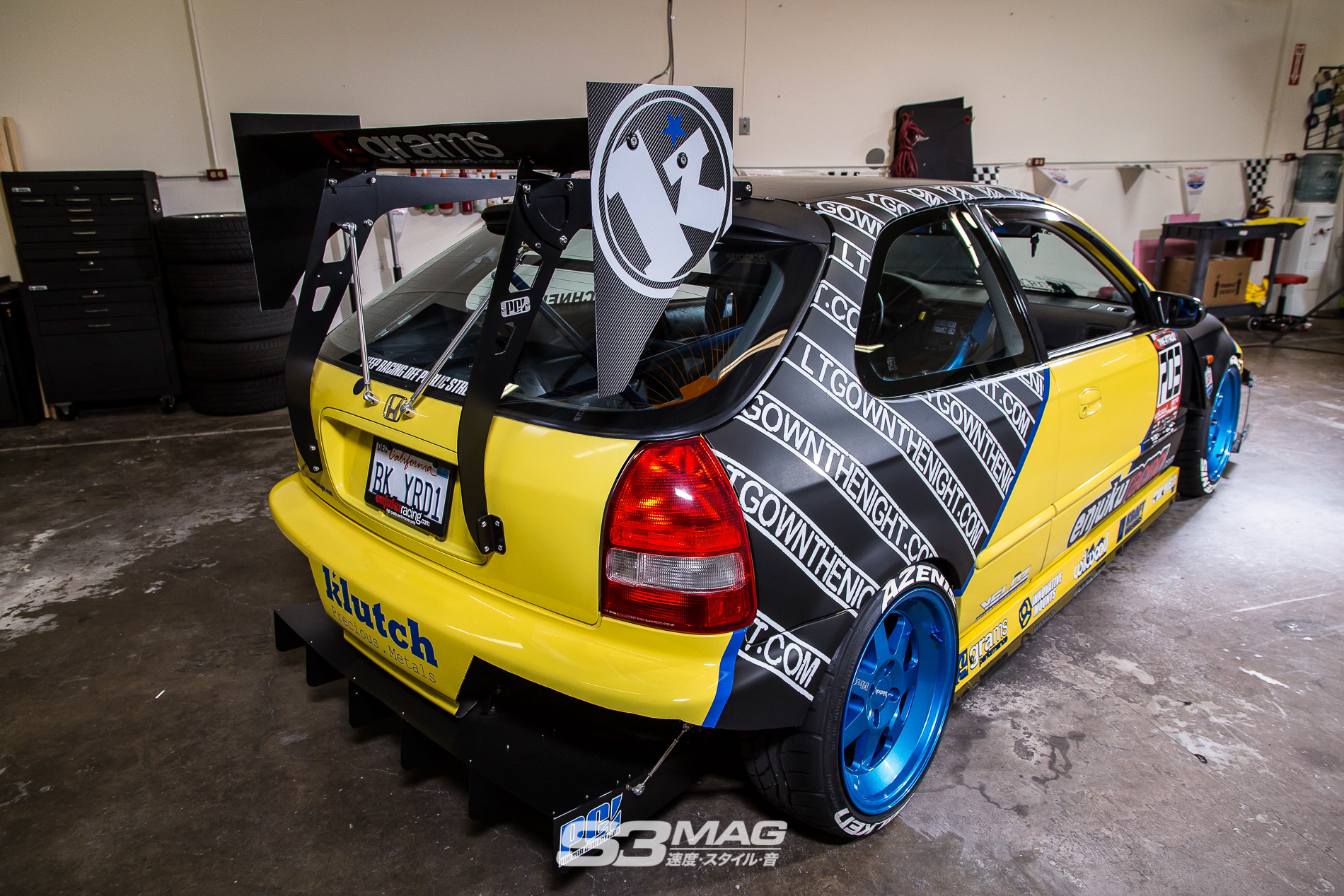 Backyard Joe Honda Civic Ek Hatch S3 Mag 7