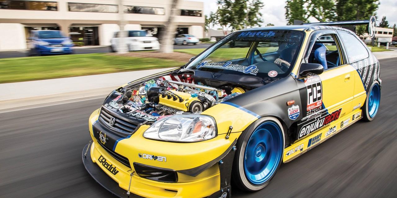 Cc: Bcc: Backyard Joe's Honda Civic EK Hatchback