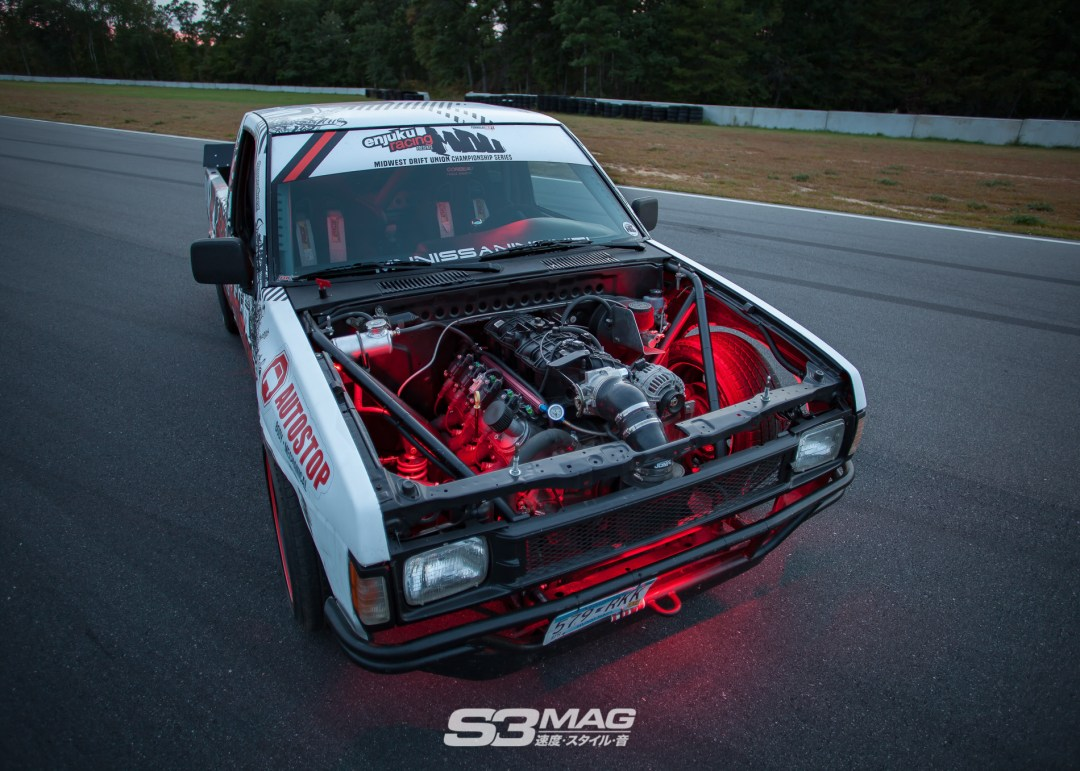 money  problems alecs nissan hardbody drift truck  magazine