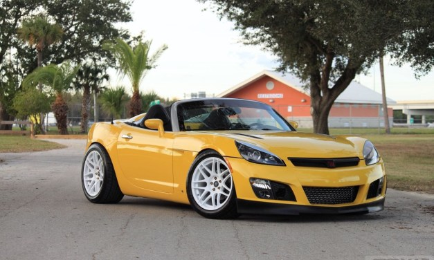2JZ swapped Saturn Sky