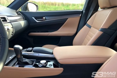 Lexus GS seat