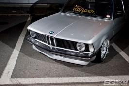 silver E21 BMW