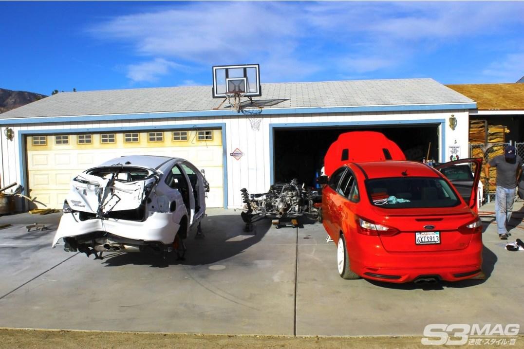 Focus ST Sedan swap