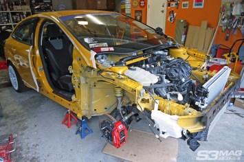 can you swap a Focus ST motor into a sedan