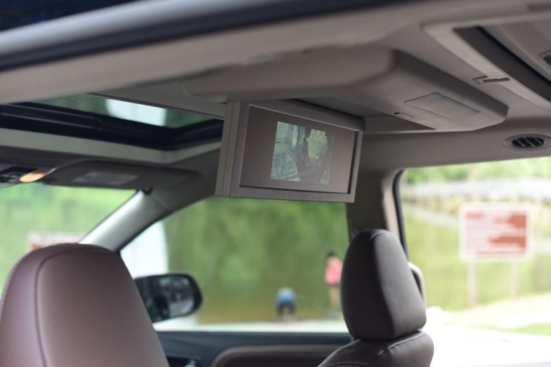 Toyota Sienna dvd player