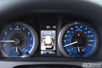 Toyota Sienna gauges