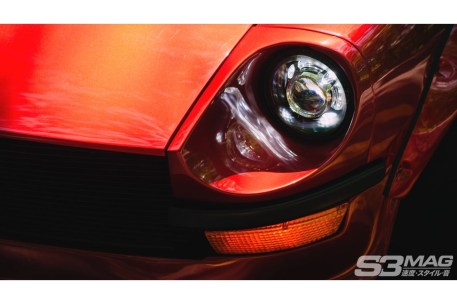 Datsun 280Z headlight retrofit