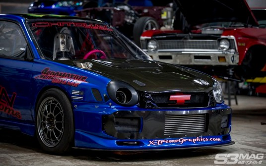 LS swapped WRX