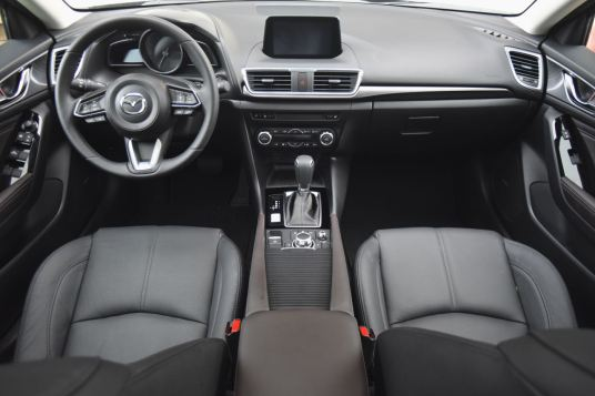 mazda3 interior grand touring