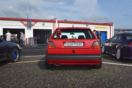 red MKII GTI