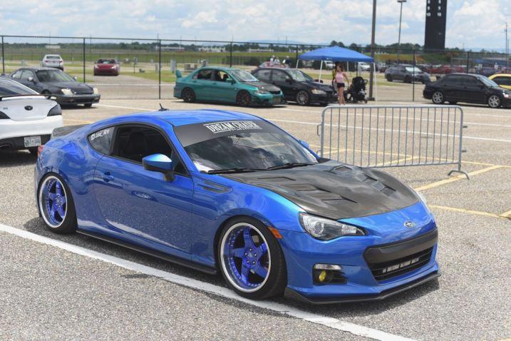 Blue BRX blue wheels