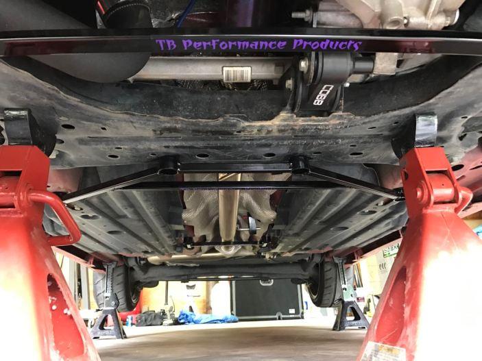 Fiesta ST Chassis bracing