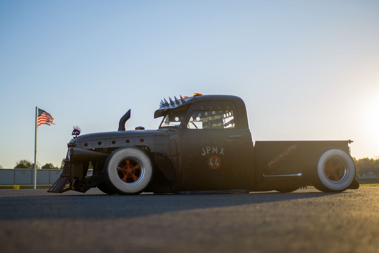 1949 Chevy Rat Rod Truck Tipos De Cancer 1954 Chopped And Bagged 49 3