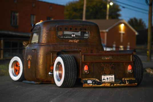 49 Chevy truck hot rod