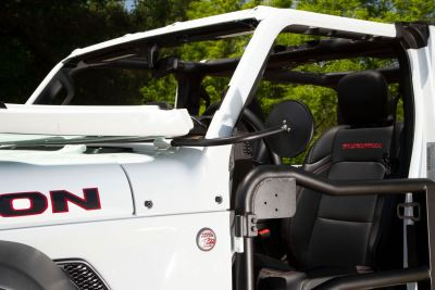 Jeep JL doorless side-view mirrors