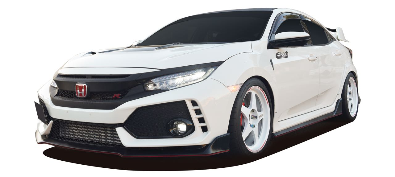 Civic Type R : Eibach Sportline lowering springs