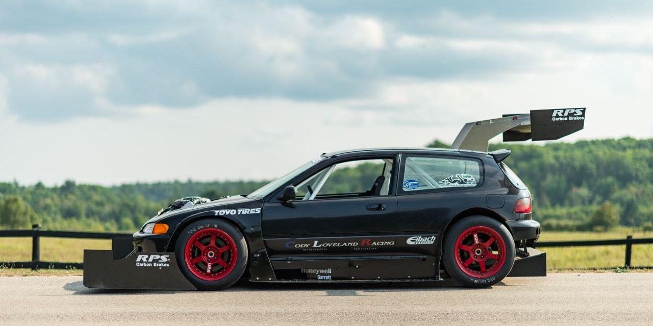 EG Civic // Major Tires + Aero // Hillclimb