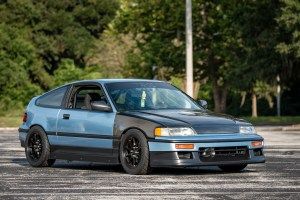 1990 Honda CRX HF on Konig Dekagrams