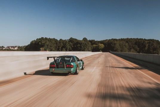 Racing Beat front sway bar // No rear sway bar