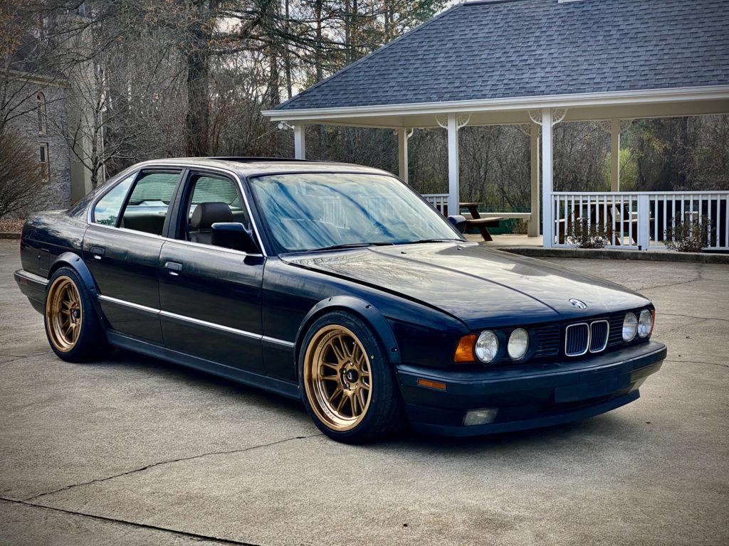E34 BMW 18x9.5