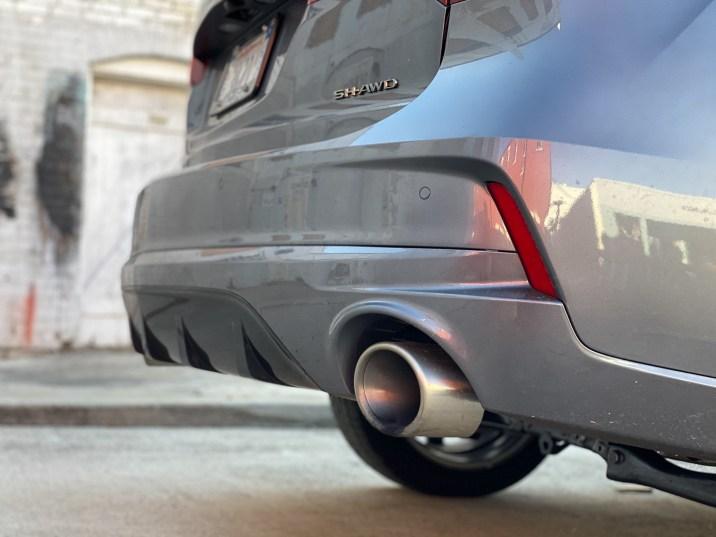 Acura MDX Aspec exhaust