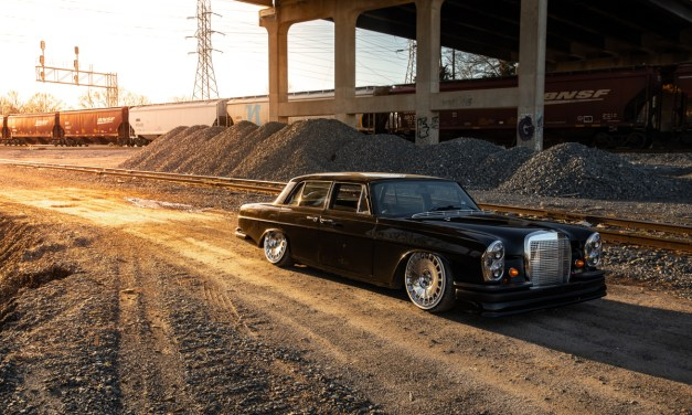 Eurowise '69 Mercedes 280s Turbo LS