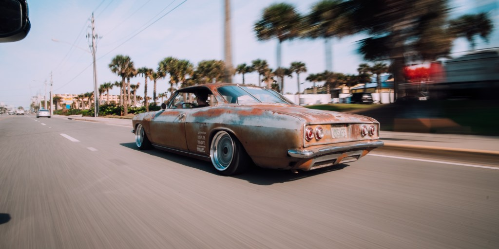 chopped corvair