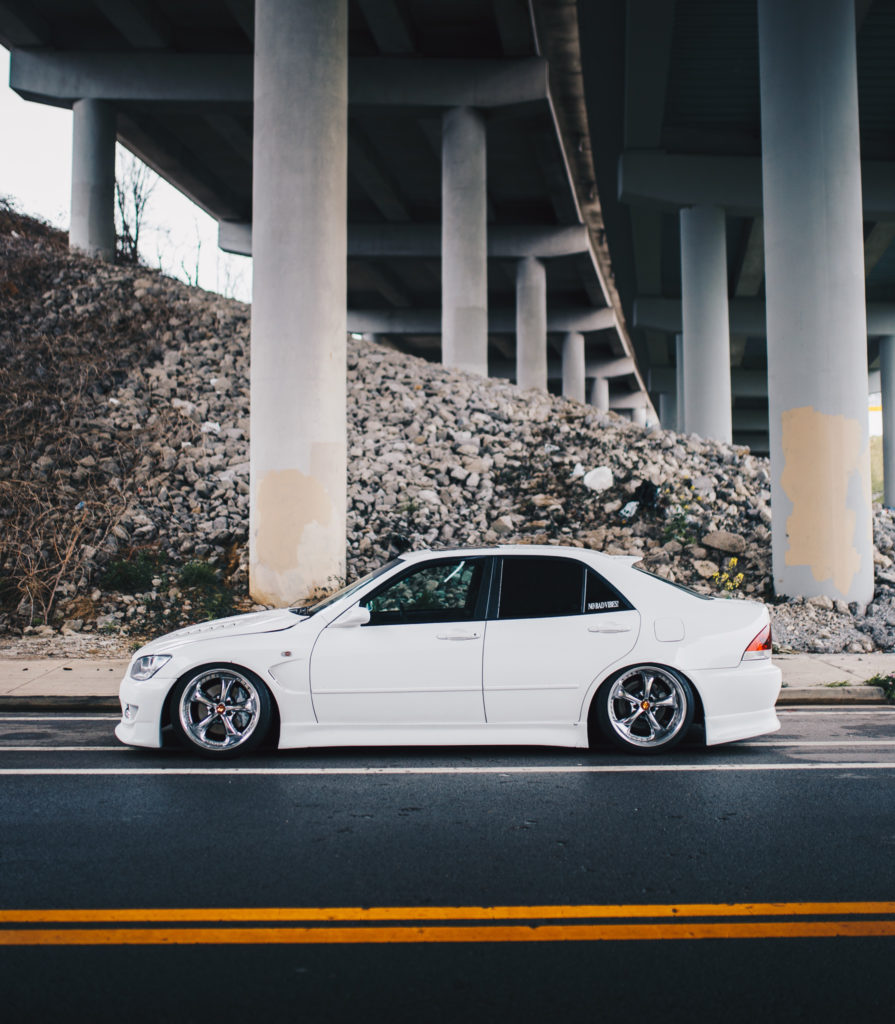 lowered IS300