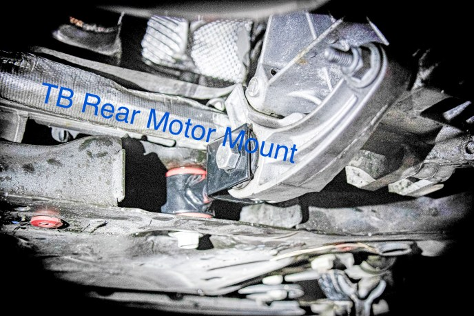 TB Performance rear motor mount