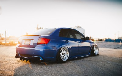 Forged Fitment Subaru WRX