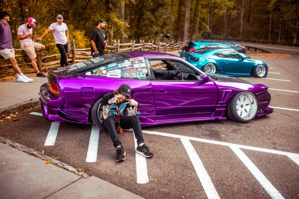 Purple 240sx silvia