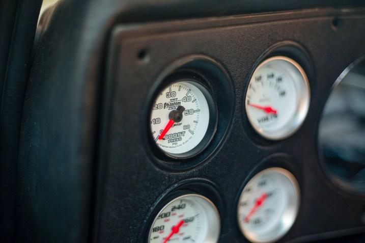 diesel boost gauge