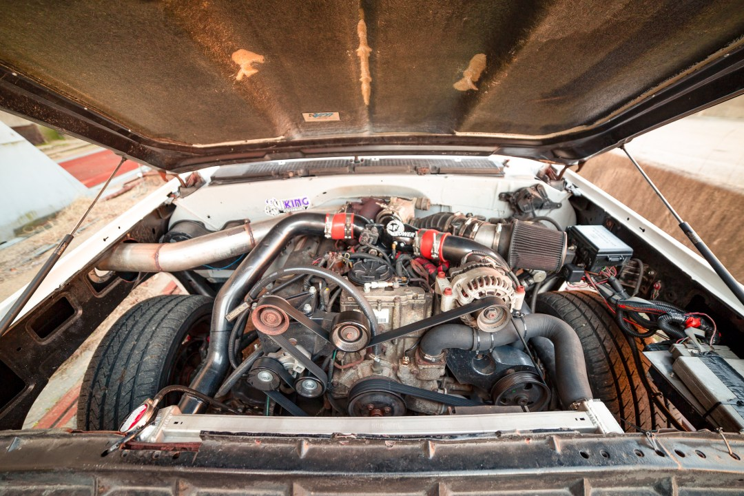 Ford 7.3 powerstroke turbo diesel swap
