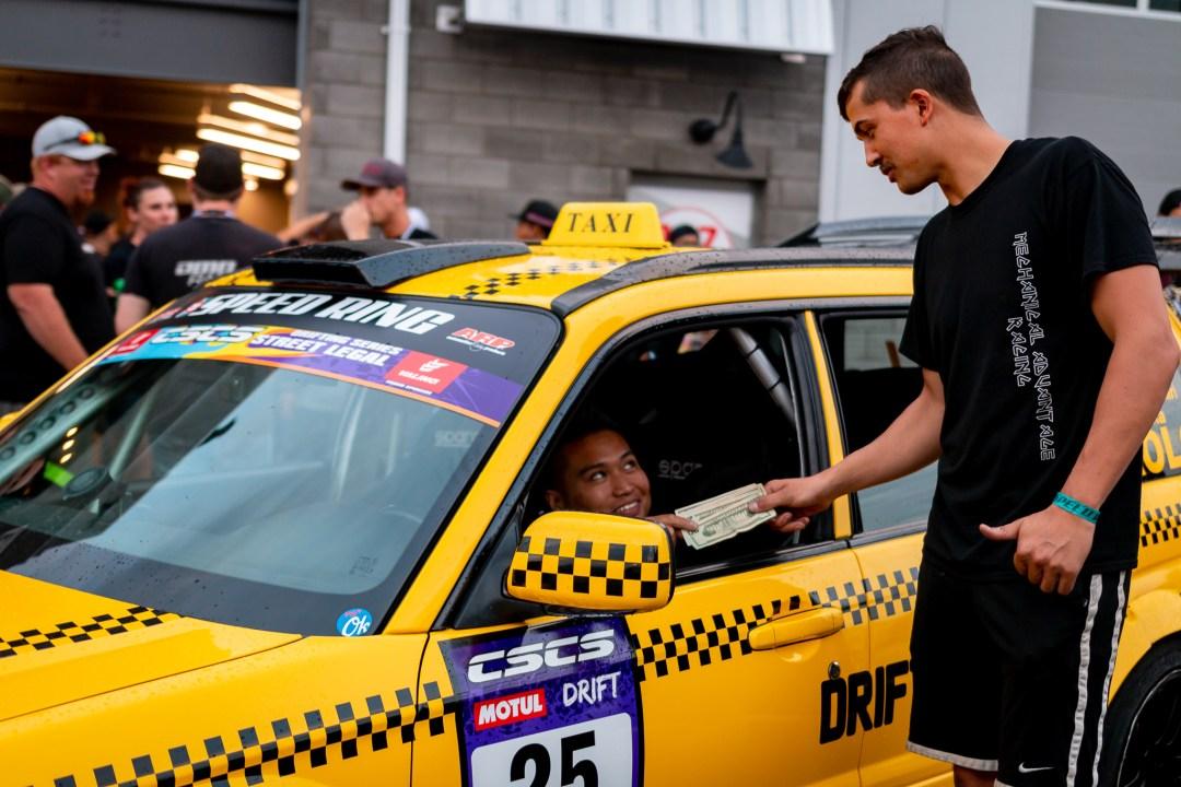 Taxi über lift