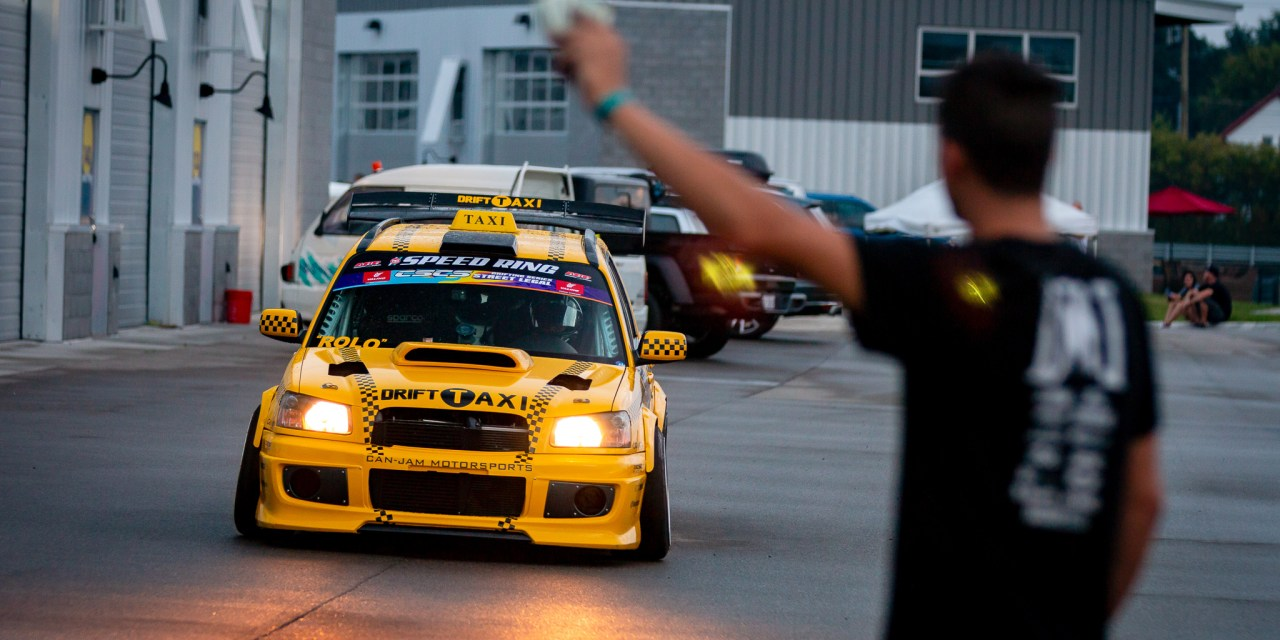 Can Jam Subaru Forester Drift Taxi