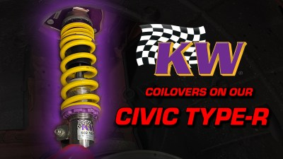 KW Suspensions V3 Coilovers | Civic Type-R