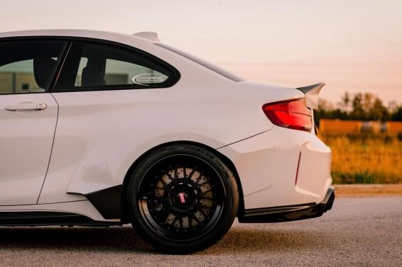 wide low BMW M2