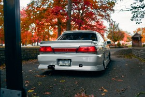 lowered Nissan Laurel