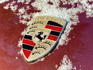 Ruby Red Porsche