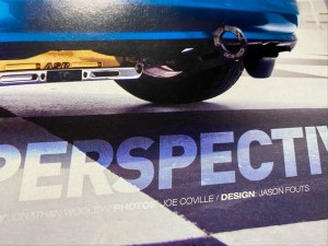 car magazine article