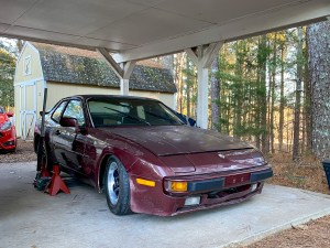 KW coilovers Porsche 944